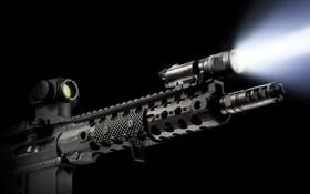 Картинка оружие, фонарик, винтовка, штурмовая, Centurion
