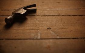 Обои макро, фото, сталь, молоток, инструменты, железо