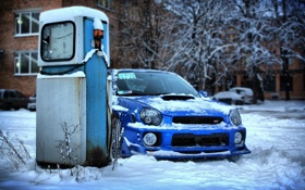 Картинка обои, Subaru, Impreza, WRX, STI, wallpapers, субару