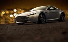 Картинка дорога, блики, Aston Martin, тюнинг, порше
