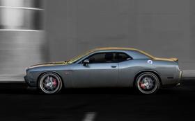 Обои Авто, Машина, Серый, Dodge, SRT8, Challenger, wheels