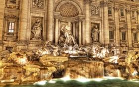 Обои город, стиль, Рим, Италия, архитектура, Italy, Rome