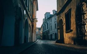 Обои улица, дома, Европа, Италия, улочка