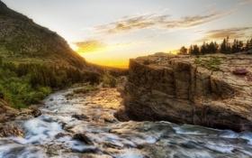 Картинка фотографии, скалы, природа, hdr, вода, камни