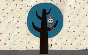 Картинка дерево, чудик, Kim Hana
