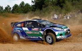 Обои Ford, Форд, WRC, Fiesta, Фиеста
