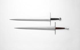 Обои оружие, фон, сталь, мечи