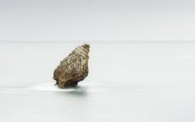 Обои море, скала, Spain, Asturias, Buelna