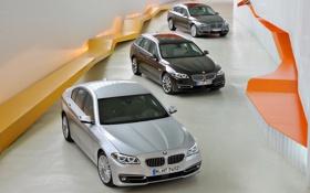 Обои бмв, BMW, 5 Series, модельный ряд
