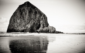 Картинка вода, скалы, sky, water, rocks