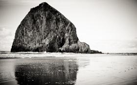 Обои water, rocks, скалы, вода, sky