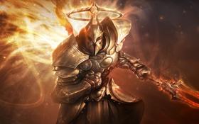 Обои Ангел, Воин, Diablo, Imperius