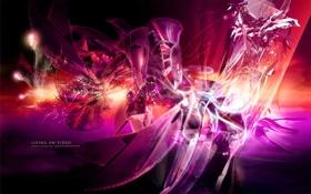 Картинка абстракции, обои, яркие
