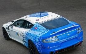 Обои Hybrid, задок, гибрид, астон мартин, Hydrogen, Aston Martin, Rapide S