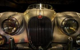 Картинка машина, фон, 1956 Jaguar XK150 S Roadster