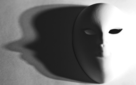 Картинка свет, тень, маска