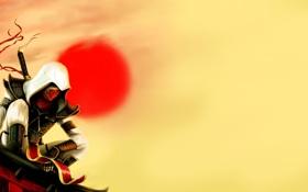 Обои рисунок, меч, Assassins Creed