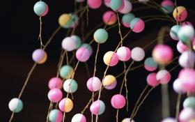 Картинка шарики, бусинки, разноцветные шарики