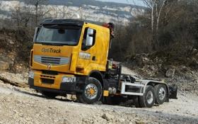 Обои Premium Lander, Optitrack, рено, Renault, большой, грузовик
