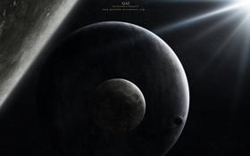 Обои планеты, луны, спутники