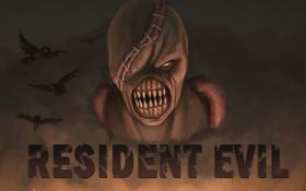 Обои resident evil, обитель зла, nemesis, немезис