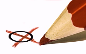 Картинка макро, цвет, карандаш, форма