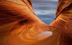 Картинка небо, вода, природа, скала