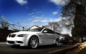 Обои белый, BMW, lincoln