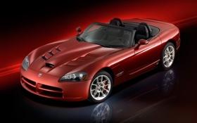 Обои Dodge, Viper SRT10, Roadster 2008