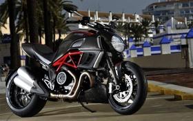 Картинка мотоцикл, байк, Ducati, дукати, Diavel, motowalls