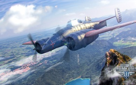 Обои самолет, aviation, авиа, MMO, Wargaming.net, World of Warplanes, WoWp