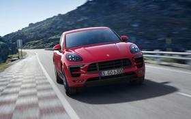 Обои Porsche, порше, кроссовер, GTS, Macan, макан
