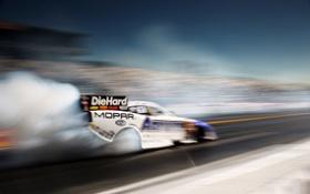 Обои скорость, гонки, болид, драг, drag racing, funny car
