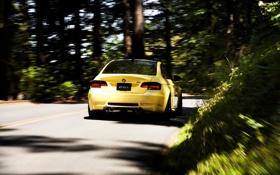 Картинка bmw, бмв, скорость, поворот, тачки, cars, auto wallpapers