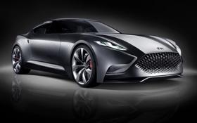 Обои Concept, концепт, Hyundai, передок, Хёндай, HND-9