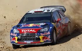 Обои гонка, Citroën, грязь, Race, DS3, ралли, WRC