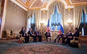 Обои россия, президенты, сша, белый дом, Barack Obama, Dmitry Medvedev