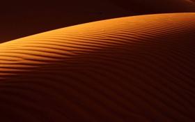 Картинка песок, барханы, пустыня, природа, дюны