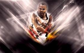 Обои Спорт, Баскетбол, NBA, San Antonio, Сан Антонио, Spurs, Игрок