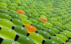 Картинка фон, кресла, стадион