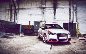 Картинка Audi, гараж, cars, auto, photography, photo, wallpapers auto