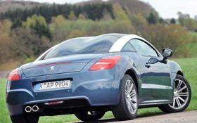 Картинка авто, Peugeot, RCZ, new, задок, 2013