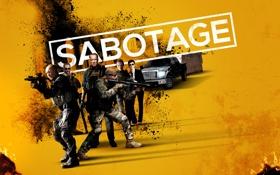 Обои драма, боевик, триллер, машина, Sabotage, Арнольд Шварценеггер, Саботаж