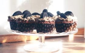 Картинка печенье, десерт, выпечка, кексы