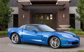 Обои авто, машины, Corvette, Chevrolet, корвет, шевролет, grand sport