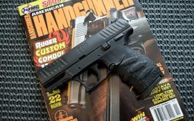 Обои пистолет, оружие, полуавтоматический, 9 mm, Walther CCP