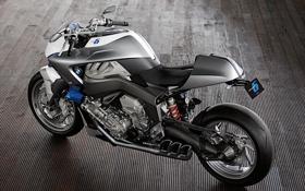 Обои BMW, БМВ, мотоцикл, motorrad, concept 6