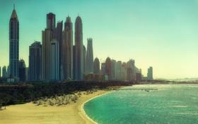 Обои beach, city, dubai, united arab emirates