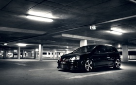 Картинка Volkswagen Golf, cars walls, wallpapers auto, auto, Gti, cars, Golf