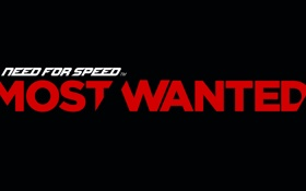 Картинка фон, надпись, need for speed most wanted 2